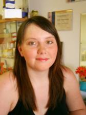 druhá zkouška  líčení, již jsem poprosila paní kosmetičku aby mě vyfotila a fotky jsou hned lepší :)