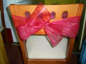 mašle na židle :)