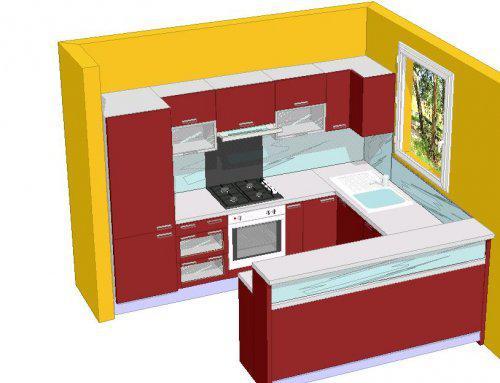 Nas domcek - finalny navrh kuchyne