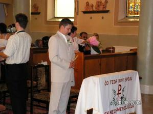 Čekání u oltáře