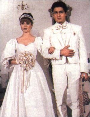 Svatby z filmů :) - tevenovela Esmerelda