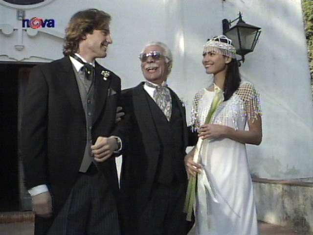 Svatby z filmů :) - také z Divokého anděla