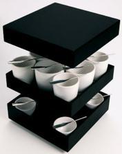 na čaj a kávu s úžasnými originálnymi lyžičkami :)