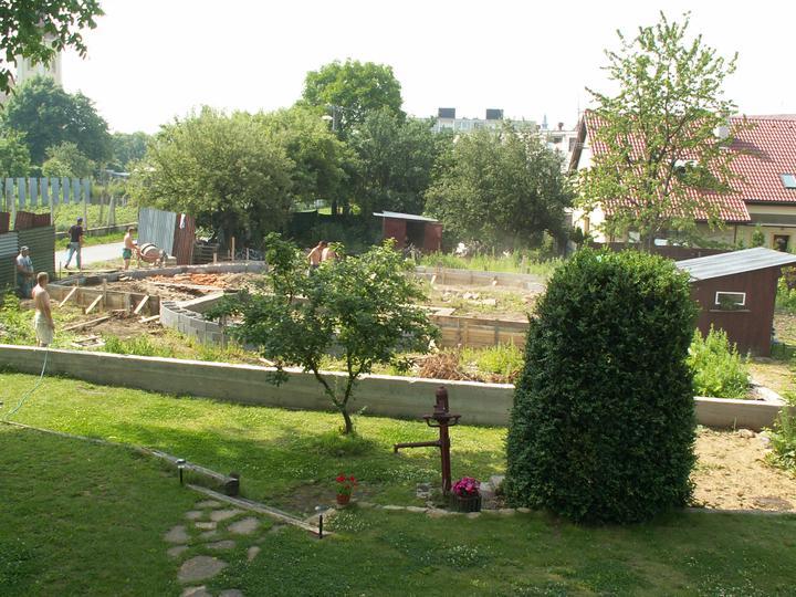 Náš dom ALEX - Budujeme základy...