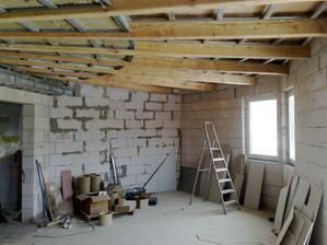 Kuchyňa, pohľad z obývačky