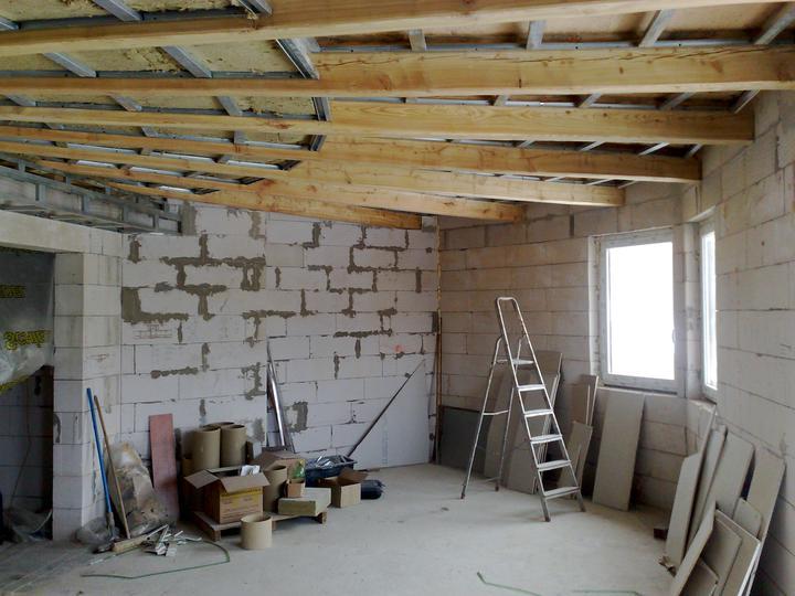 Náš dom ALEX - Kuchyňa, pohľad z obývačky