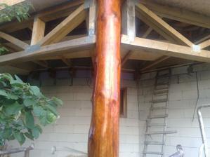 Namorený vonkajší stĺp