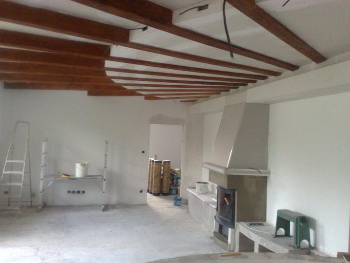 Náš dom ALEX - Sadrokartóny dokončené!