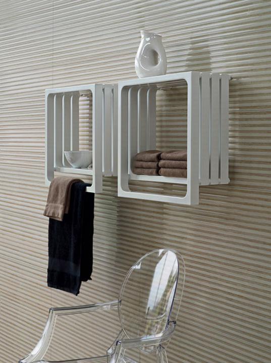 Kúpeľňové podnety - Montecarlo radiátor od firmy Tubes Products