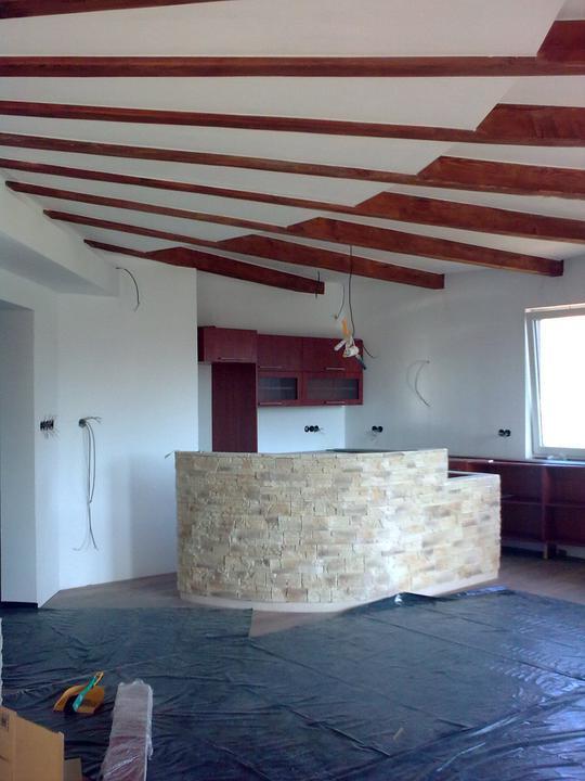 Náš dom ALEX - Inštalácia kuchyne