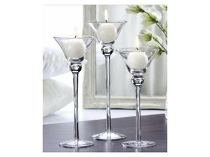 Svícny na svatební stůl