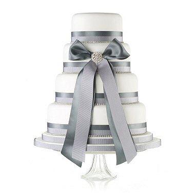Pudrová svatba - přípravy a inspirace - My favourite wedding cake. I like it :-)