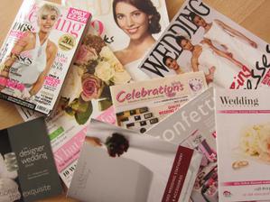 inspiraci jsem čerpala i z časopisů z Anglie či Německa