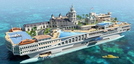 ženichovi jsem řekla, že jestli mi tuto yachtu koupí, tak si ho vezmu :-D