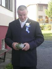 Honzík dostal důležitý úkol :)