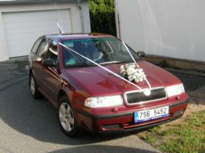 vůz pro nevěstu - náš nablejskanej miláček