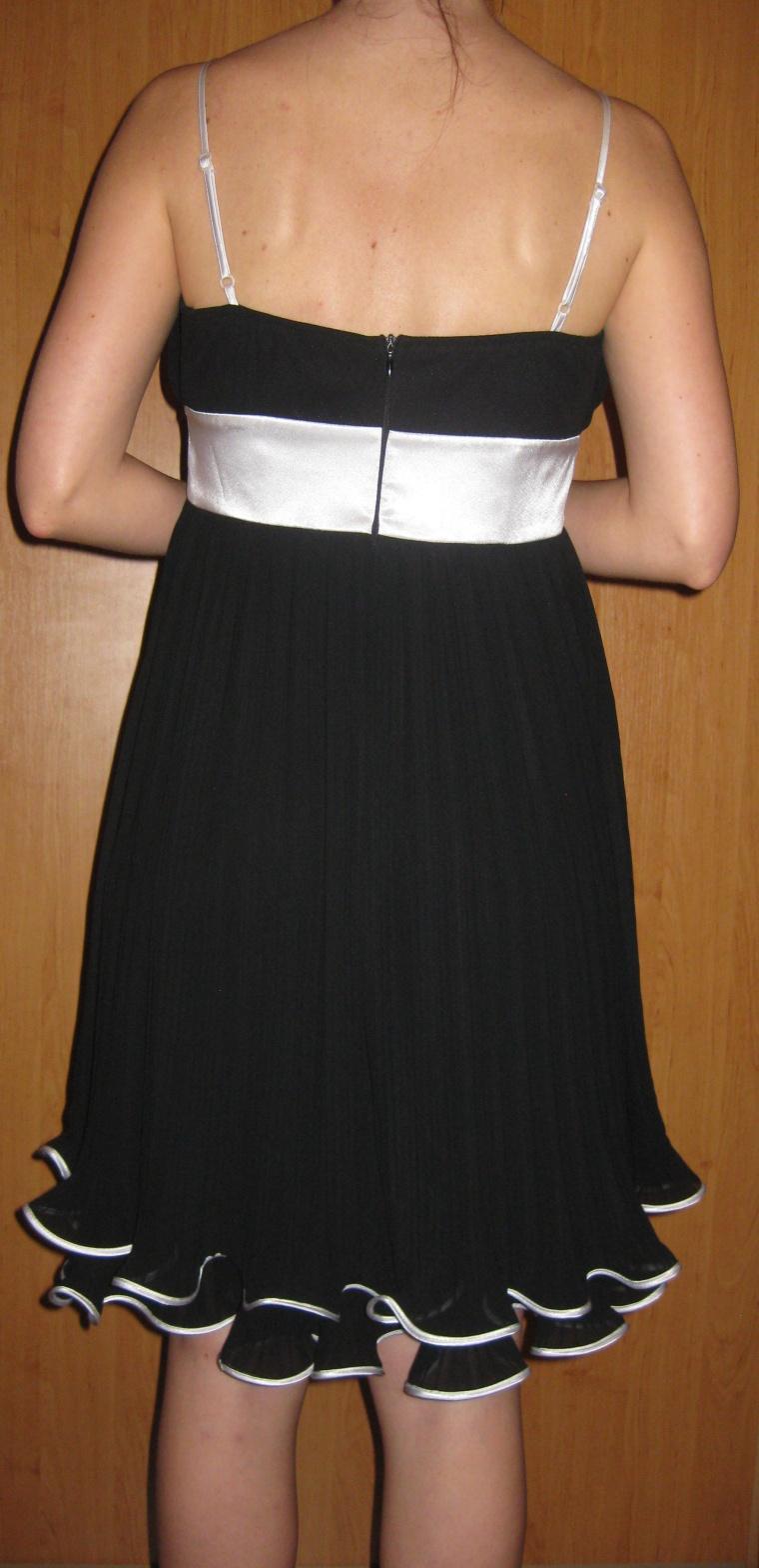 Čierne spoločenská šaty - Obrázok č. 3