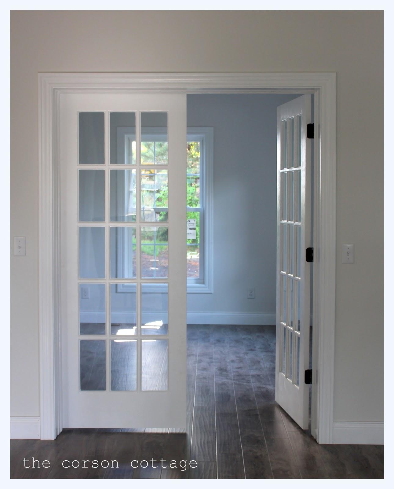 Nas buduci domcek :) - takymito dverami by som chcela uzavriet nocnu cast .