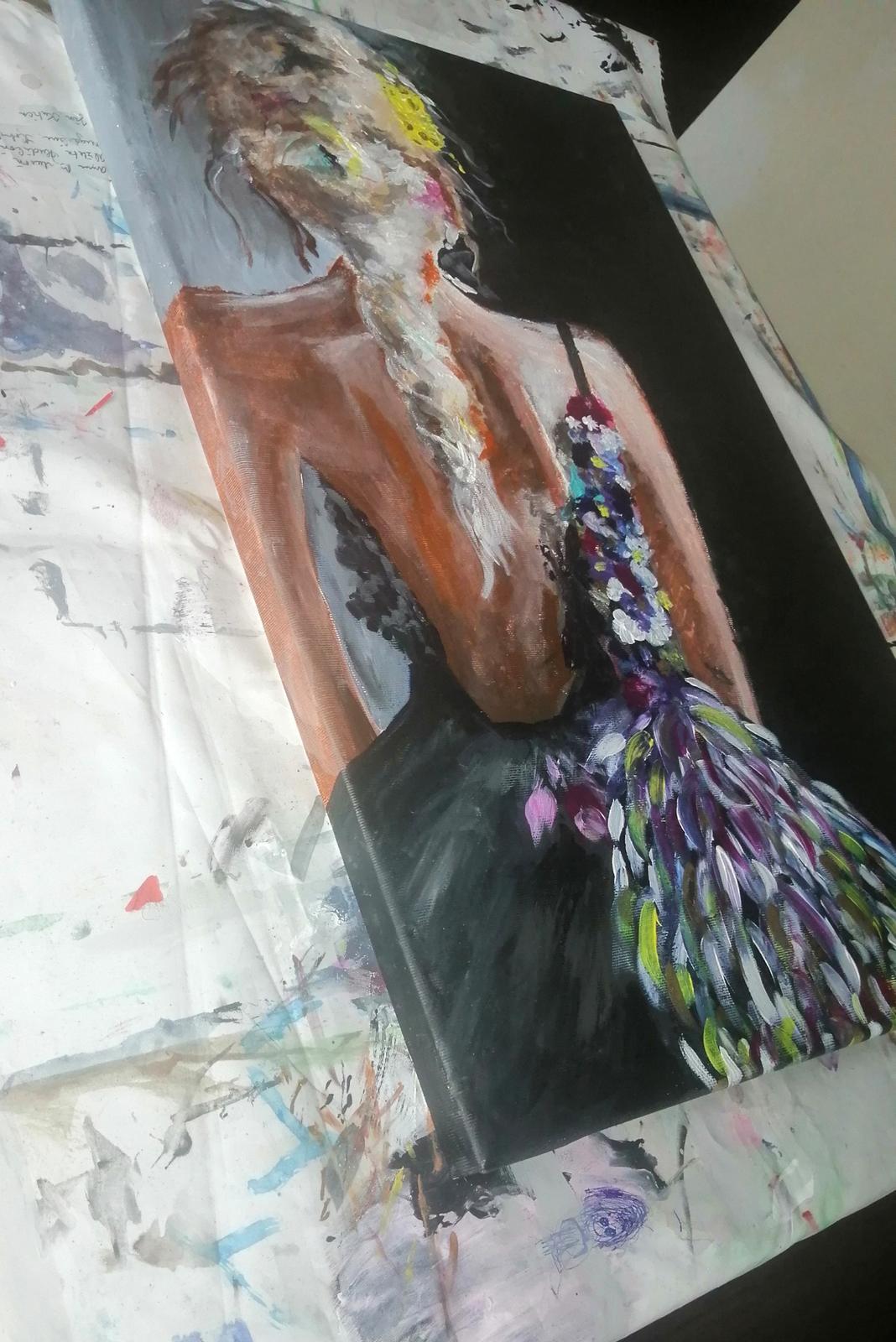 Obraz Zena abstrakt - Obrázok č. 2