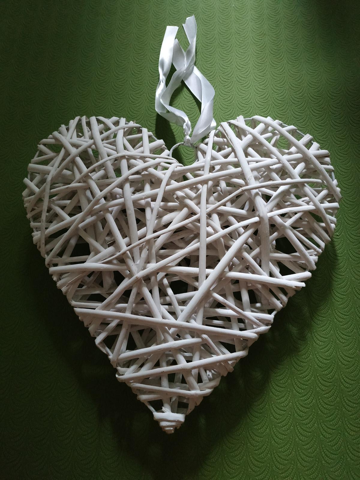srdce 30x35cm - Obrázok č. 1