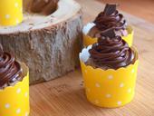 Krajkové košíčky na cupcakes, žluté,