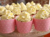 Puntíkované košíčky na cupcakes, růžové,