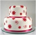 Moje vysnívane predstavy - jednoducha torticka, ale v inej farbe