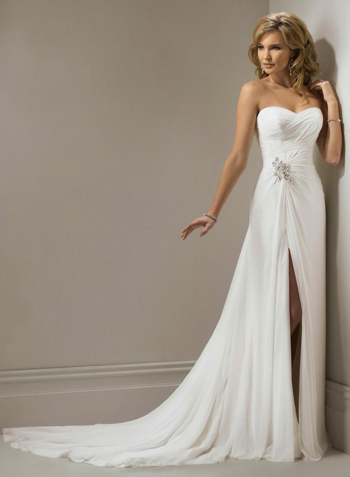 Ak aty na svadbu na pl i svatebn aty for Online wedding dresses for sale