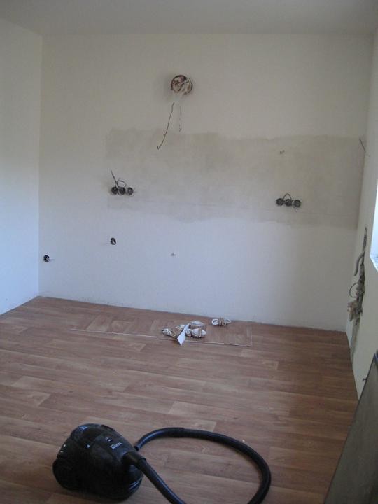 Podlahy - Než přišla kuchyň