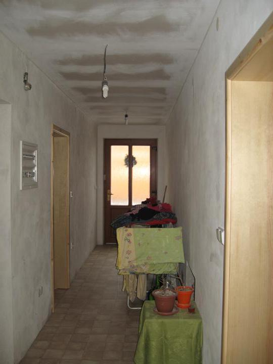 Podlahy - Před vymalováním