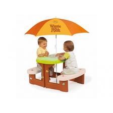 Smoby piknikový stolček Macko Pooh
