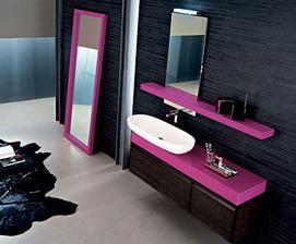 skuška farieb-sivo-cyklamen, pink