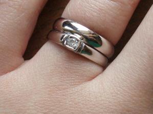 moje prstienky spolu :)