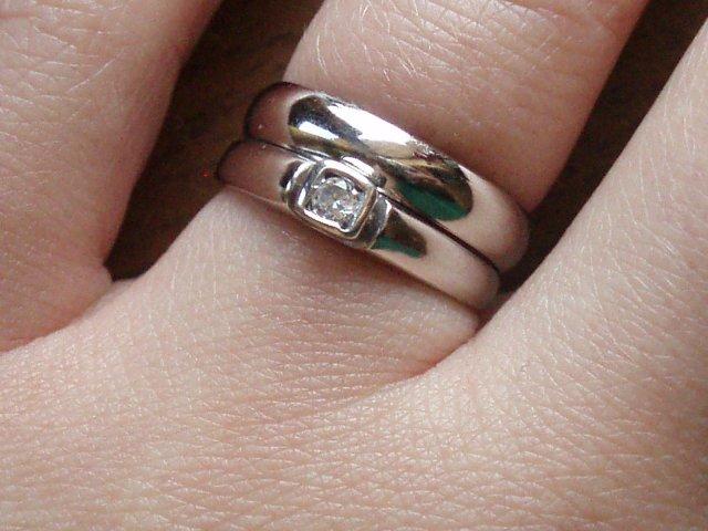 7.6.2008 Denis a Maroš - moje prstienky spolu :)