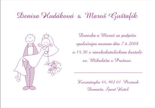 7.6.2008 Denis a Maroš - a uz tu mame korekturu, paraaada :) cakala som rok kym ich budem moct objednat
