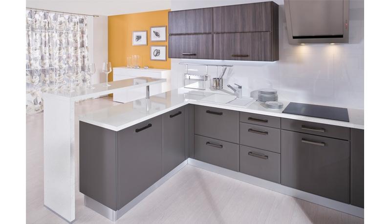 Myslím si... aneb inspirace pro naše bydlení - šedé skříňky..