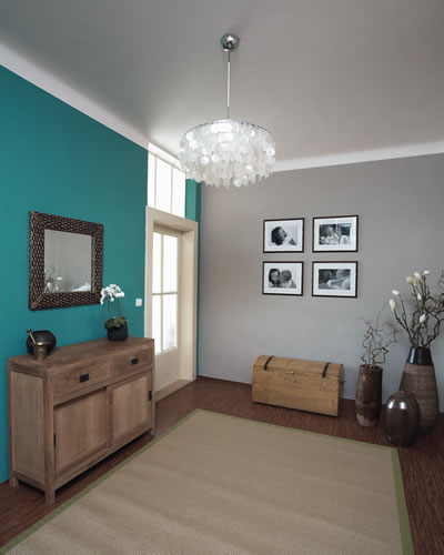 Myslím si... aneb inspirace pro naše bydlení - Tato barevná kombinace do předsíně mě nadchla, v kombinaci s bílým nábytkem..