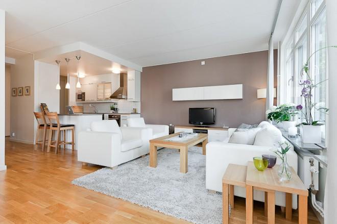 Myslím si... aneb inspirace pro naše bydlení - opět barvy a světlá sedačka