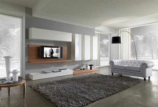 Myslím si... aneb inspirace pro naše bydlení - tady šedá..