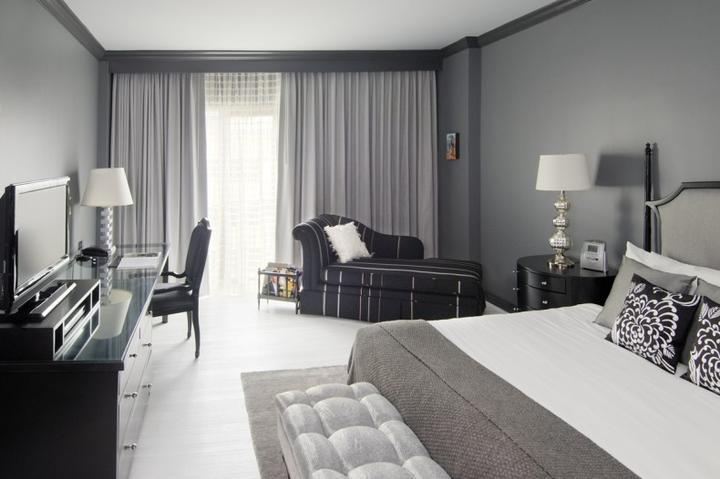 Myslím si... aneb inspirace pro naše bydlení - tohle je už vyloženě hotelové, ale ta šedá mi nedá spát..