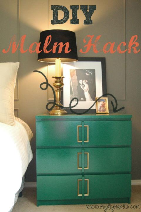 Ikea Malm hack - Obrázek č. 43