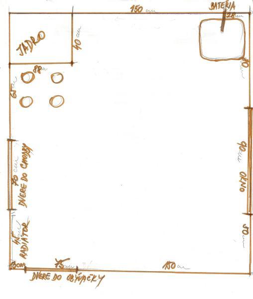 f9252b336104 Kuchyňa má rozmer 150 x 220. Ako ju zariadiť  - -...