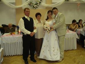 Môj Krstný a hlavný pán strosta;-) + moja krstná