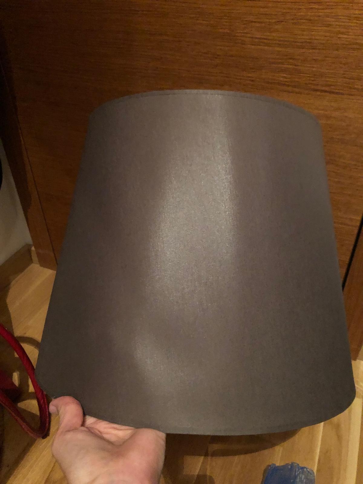 Hodvabne tienidlo na stolovu/stojacu lampu - Obrázok č. 1