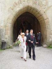 maminka se ženichem