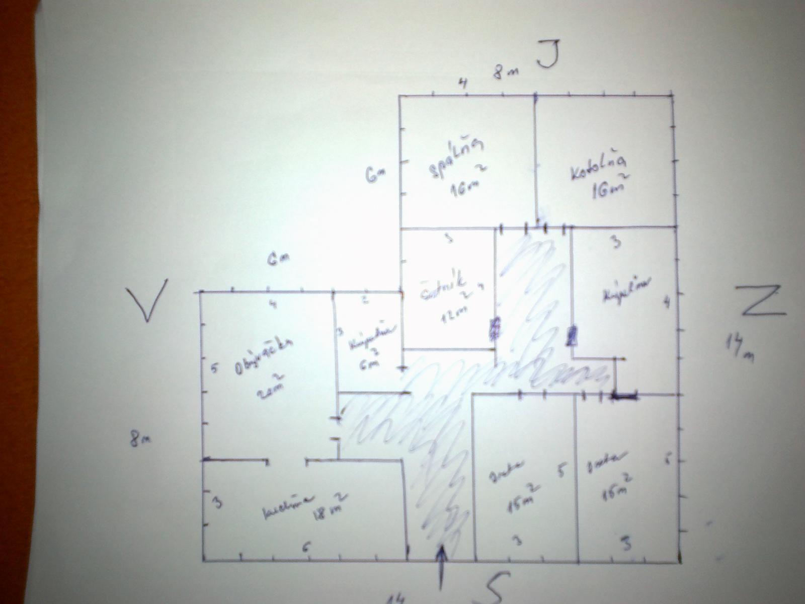 17244d1ed459 Vaše názory na tento bungalov 14 x 14 - - Projekt...