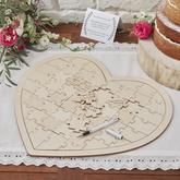 Drevené Srdce Puzzle - https://www.easywedding.sk/kolekcie/boho-chic/drevene-srdce-puzzle-alternativna-kniha-pre-hosti-boho
