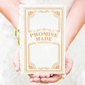 Vintage kniha na svadobné prstienky,