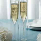 Svadobné Poháre - Dvojstenné Poháre na Šampanské ,