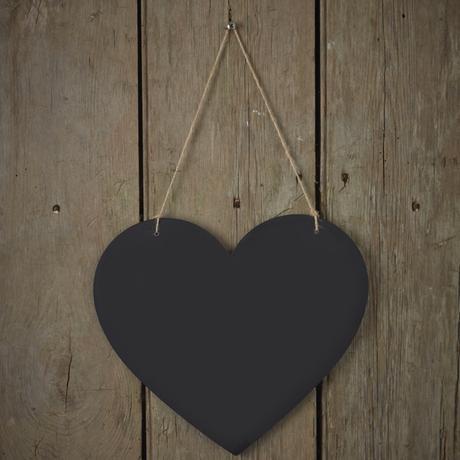 Drevené Tabuľové Srdiečko - Obrázok č. 1